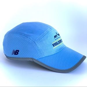 New Balance baby blue breathable Runners hat NWOT